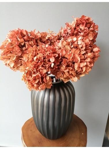 Kuru Çiçek Deposu Solmayan Gerçek Ortanca Buketi Açık Pembe 4-5 Adet , Kuru Çiçek Pudra
